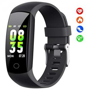 HETP-Montre-Connecte2019-W12-Bracelet-Connect-Podometre-Cardiofrquencemtre-Femmes-Homme-Enfant-Tracker-Tension-Artrielle-Smartwatch-tanche-Montre-Cardio-Sport-pour-Samsung-Huawei-iPhone-etc-0