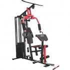 ISE-Appareil-de-Musculation-StationHome-Gym-Complet-avec-Contrepoids-65KG-11-Pices-Presse-pour-Pectoraux-Butterfly-Poulie-Haute-et-Leg-curl-SY-410-0