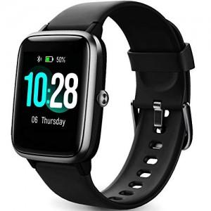 Montre-Connecte-FemmesMontre-Intelligente-Homme-IP68Etanche-Bracelet-Connect-Cardio-Podometre-Smartwatch-Sport-Fitness-Tracker-dActivit-Contrle-de-la-Musique-pour-Android-iPhone-Noir-0