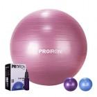 PROIRON-Ballon-de-Fitness-Suisse-Epais-Exercice-de-Yoga-Gym-Stabilit-Anti-explosion-avec-Pompe--Main-75cm-Rouge-0