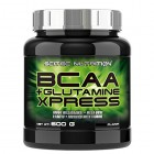 Scitec-Nutrition-Acides-Amins-BCAA-Glutamine-Xpress-Lime-600-g-0