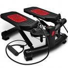 Sportstech-Stepper-dappartement-Twister-2-en-1-Arobic-avec-Cordes-lastiques-STX300-Swing-Stepper-pour-dbutants-et-Professionnels-Mini-Stepper-dappartement-Haut-Bas-avec-cran-Multifonctions-0