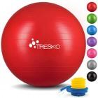 TRESKO-Ballon-de-Gymnastique-Anti-clatement-Boule-dassise-Balle-de-Yoga-Balles-dexercices-Fitness-300-kg-avec-Pompe--air-Rouge-75cm-0