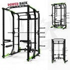 We-R-Sports-Power-Rack-Gym-Crossfit-Rack-Smith-Machine-LAT-Pull-Down-Pull-Ups-0